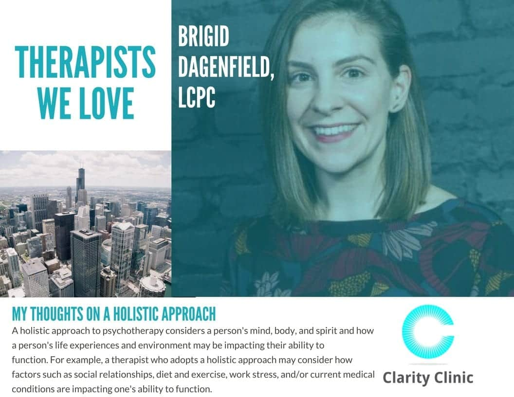 Therapist Spotlight: Brigid Danfield, LCPC