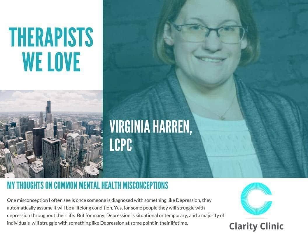 Therapist Spotlight: Virginia Harren, LCPC