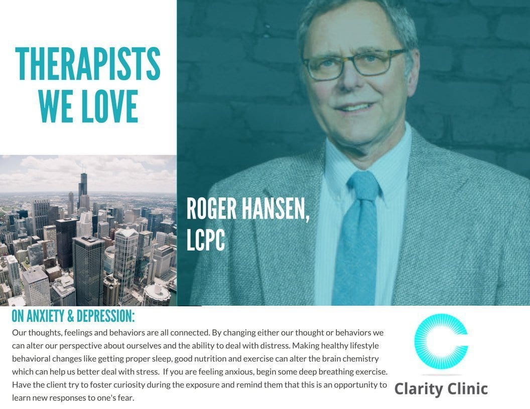 Therapist Spotlight: Roger Hansen, LCPC