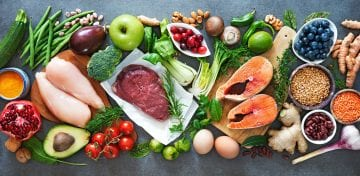 Healthy food options to deal with anxiety nausea