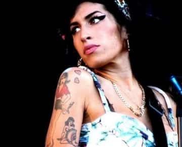 Famous alcoholic Amy Winehouse