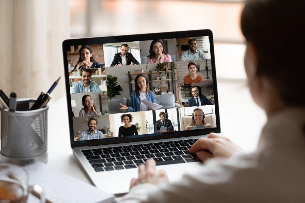 virtual work meeting social anxiety