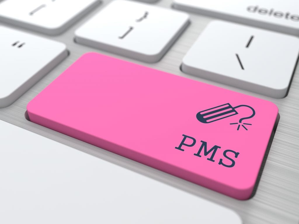 PMS (premenstrual syndrome) on Red Button
