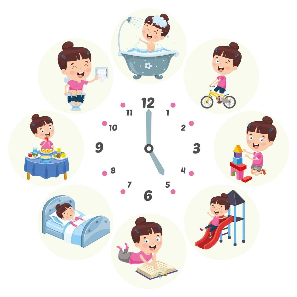 daily routine for kids